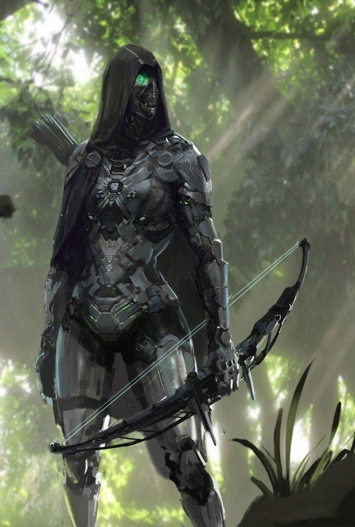 Robot clone of assassin