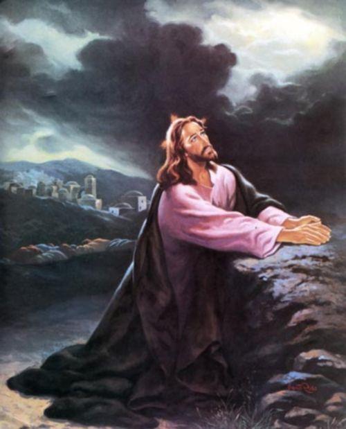 huerto de getsemaní | Jesús orando en Getsemani | Imagenes de Jesus - Fotos de Jesus