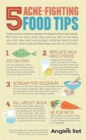anti acne foods-fighting with acne