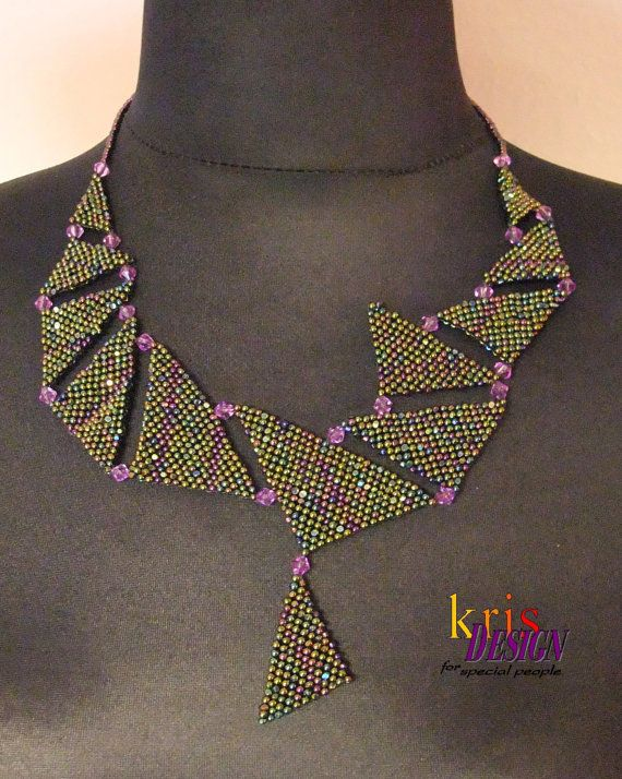 DRAGON SCALE necklace by KrisDesignFSP on Etsy, $165.00