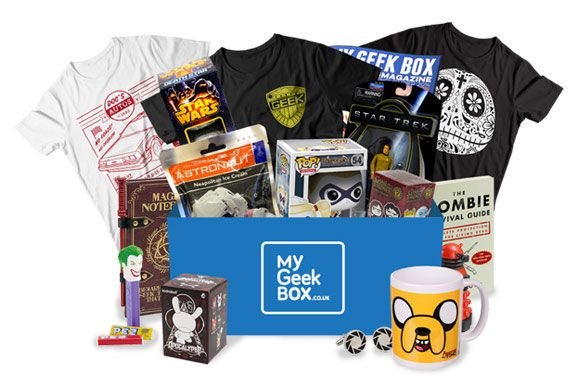 My Geek Box is a must-have mystery geek subscription box. My Geek Box hand-picks a themed collection of geek gear, including a limited edition t-shirt, and delivers it to your door ever month. http://www.findsubscriptionboxes.com/box/my-geek-box/
