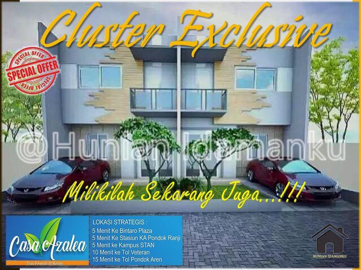 Rumah Mewah Bagus Casa Azalea Residence Bintaro