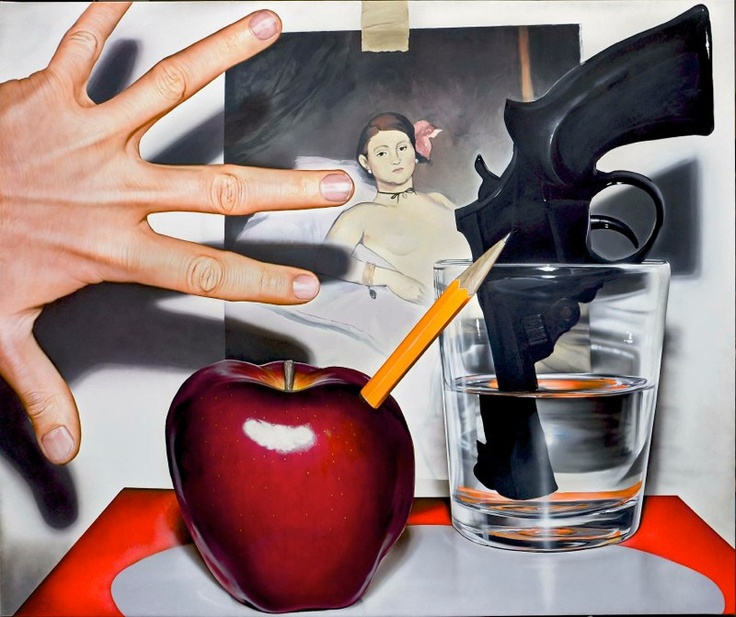 Victor Rodriguez (Paintings)  All works acrylic/canvas - amazing.