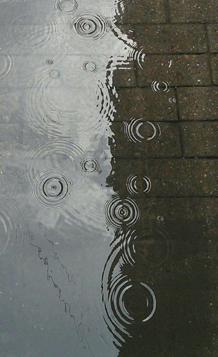 Diese Sommerregen, die die Hitze der Julisonne lin…