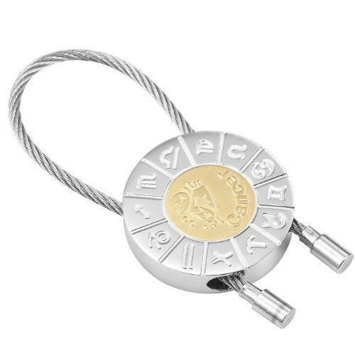 R&B Schmuck Unisex Schlüsselanhänger - Krebs Sternzeichen (Silber, Gold): 12,90€