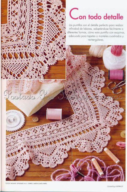 Crochet edging A