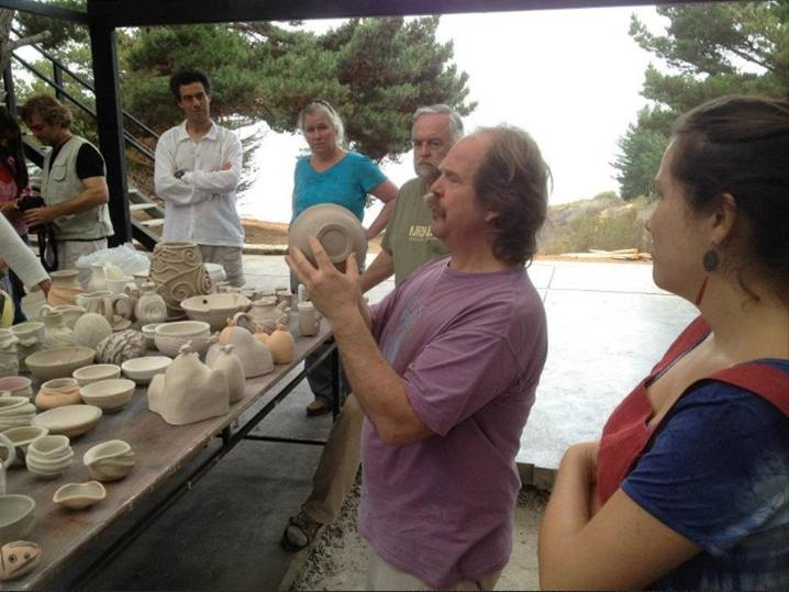 Trabajos en cerámica de  nuestros cursos de veranos en nuestro centro de arte