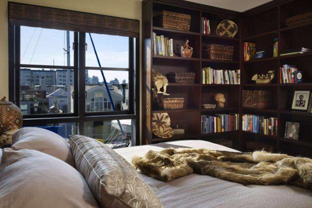 Создание приятной атмосферы, способствующей расслаблению и отдыху – задача, которую реализует дизайн маленькой спальни. #Furniture #Lighting #Loft #Design_studio #Interior_design #all4decor.ru