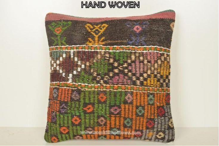 Kilim Fabric Pillows Laylah-Mae Robi
