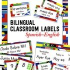 Organize and decorate your class with 275+ bilingual classroom labels and signs (Spanish-English)!   Do you work in a bilingual setting? Want to in...
