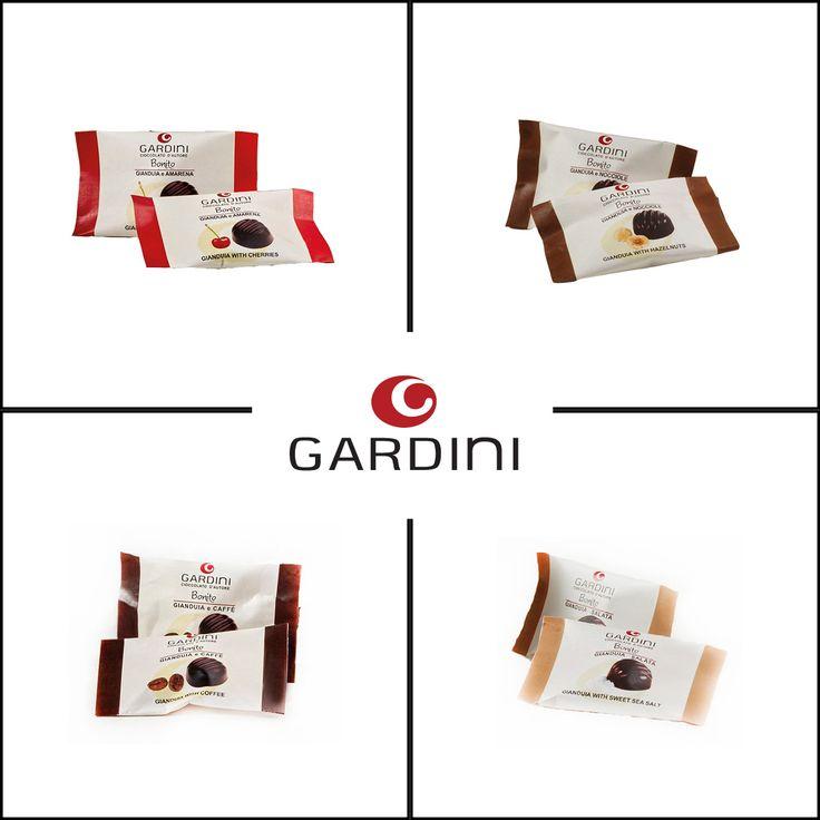 Bröderna Gardini vinner årligen priser på världens chokladtävlingar för sina krämiga och nötfyllda choklader. Nu kommer fyra nya nötchoklader med körsbär, havssalt, kaffe och hackade nötter.  #Gardini #nougat #nötchoklad #hasselnötter #nötter #nyhet #Beriksson