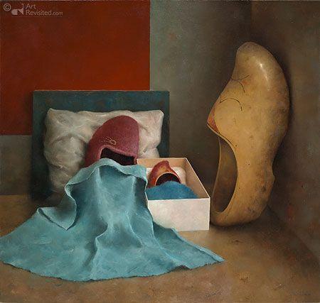 "Marius van Dokkum  (Dutch, born 1957) ""Babyschoentje"""