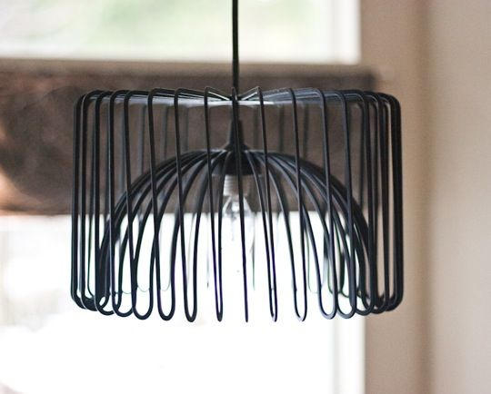 IKEA Hack: DIY Chandelier from fruit bowl