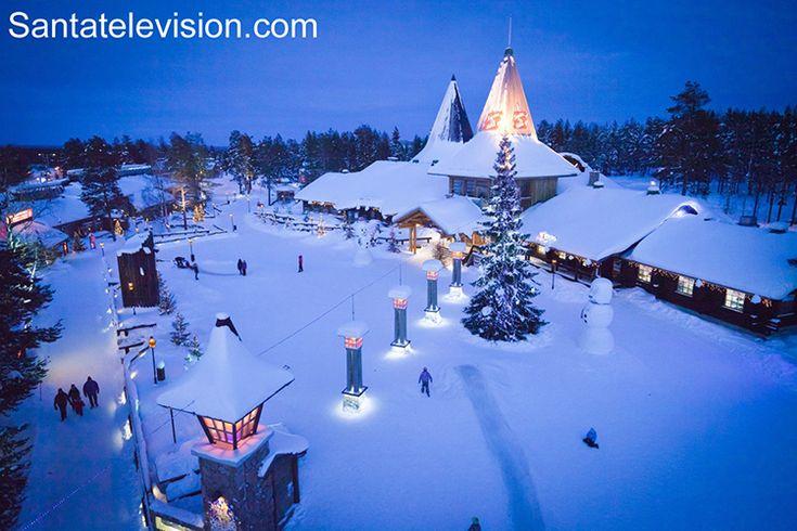 Деревня Санта-Клауса в Рованиеми в Лапландия в Финляндия