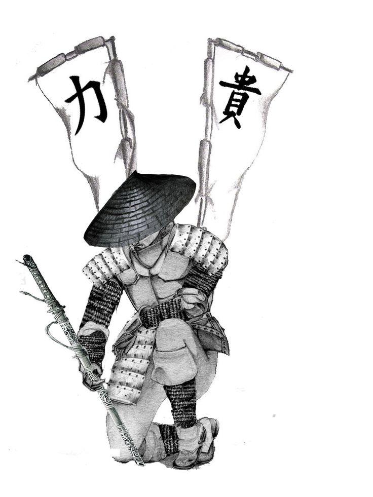 41 besten Anime Girl Samurai Tattoos Designs Bilder auf