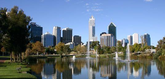 Jan 1 - Perth and Kings Park