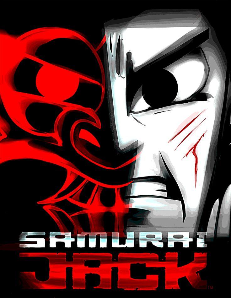 Fan Art - Samurai Jack - Aku - Dark and Light by kysketch.deviantart.com on @DeviantArt