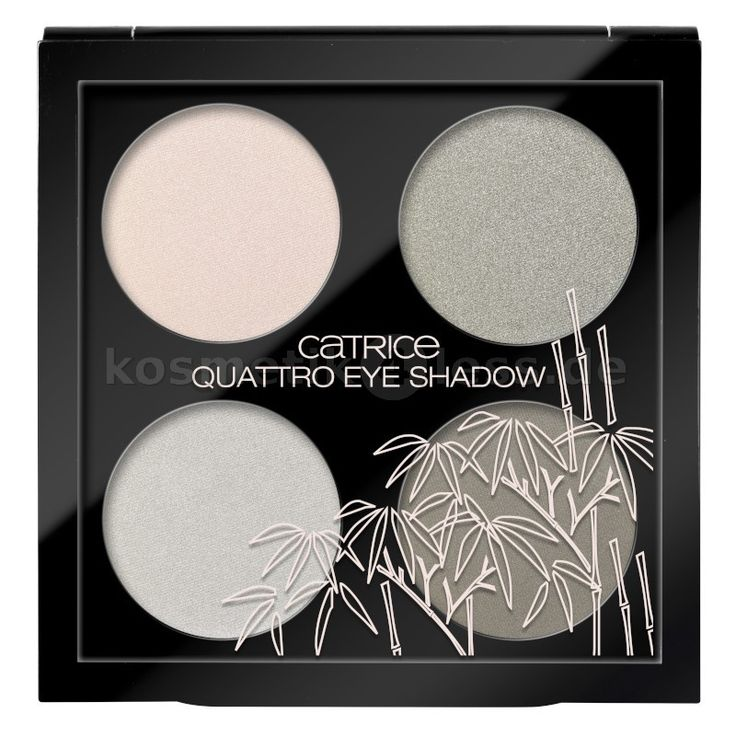 Catrice - Lidschatten Palette - Zensibility - Quattro Eye Shadow - C01 Ease And Comfort - Cosmetics & False Eyelashes