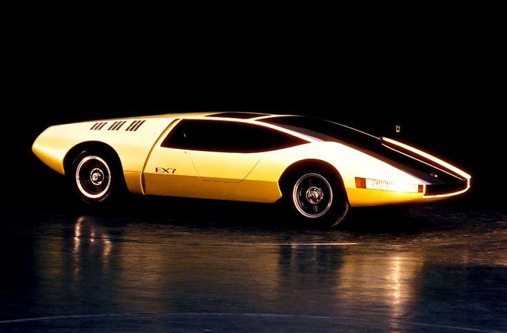 Toyota EX-7 Concept '1970