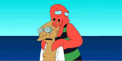 Zoidberg, Farnsworth