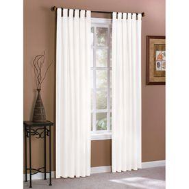 White Twill Curtain