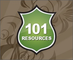 101 Design SitesRoof, Tutorials, Photography Resources, Include Fonts, Free Fonts, Art