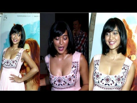 Sayani Gupta in a revealing low neck dress at WAITING movie screening.   #sayanigupta #bollywoodnewsvilla