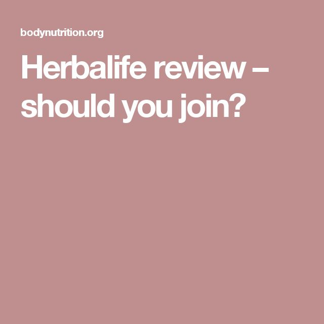 Herbalife review – should you join?