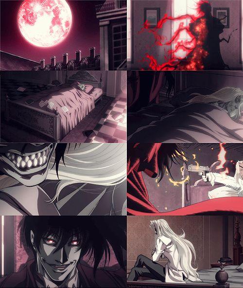 Imagen de anime, integra, and alucard after 30 years