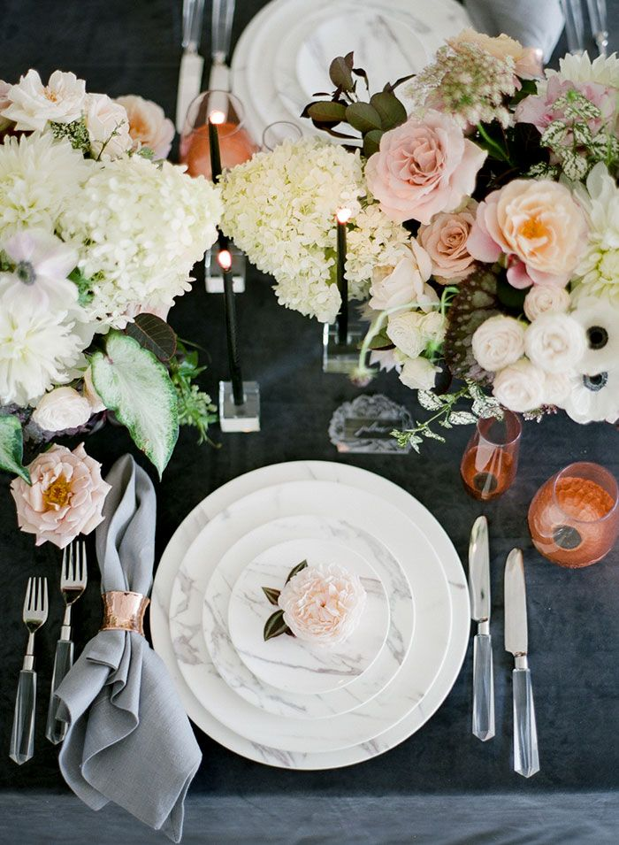 Kristen Beinke Photography | Planning and Design: Jill & Co Events | Floral Design: Camellia Floral Design | Venue: FD Photo Studio | Rentals: The Ark Rentals & Revelry Event Design | Linens: La Tavola