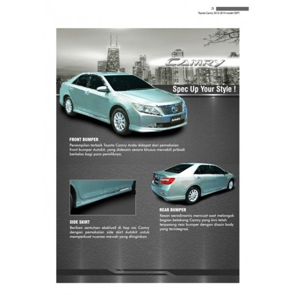 Bodykit Toyota All New Camry