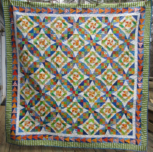 celtic solstice quilt pattern | Celtic Solstice Quilt by Hip to be a Square. Pattern from Bonnie ...