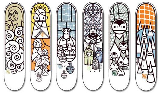 Pendleton skateboards