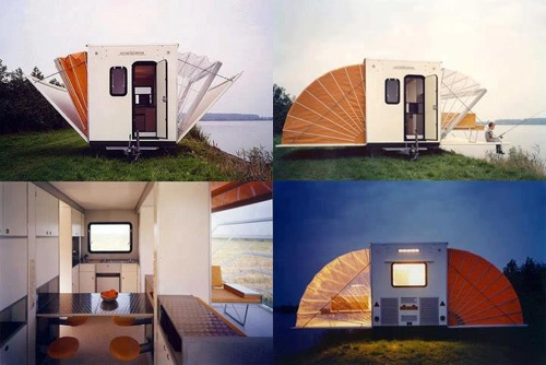 camperIdeas, Casa Rodante, Mobiles Home, Campers, Camps, Contemporary Art, Travel Trailers, Floors Spaces, Outdoor Adventure