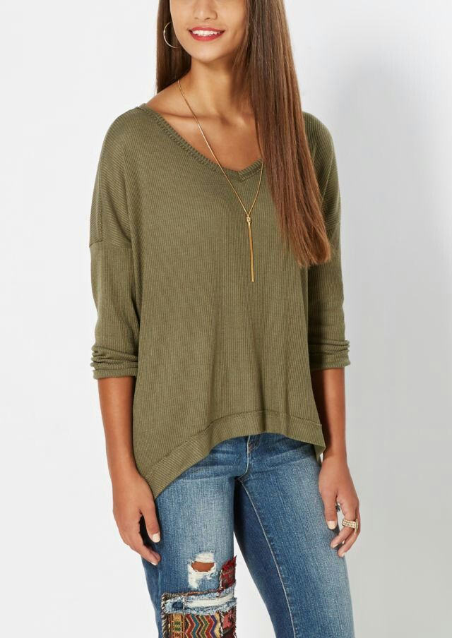 Rue 21 (I like the sweater but I would style it differently)