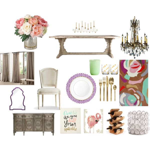 17 best images about home decor style farmhouse glam on for Glam dining room ideas