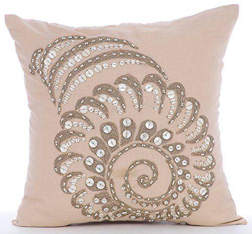 Beige Pillow Cases, Pearls and Jute Sea Shell Sea Creatur... https://www.amazon.com/dp/B016H8U7XS/ref=cm_sw_r_pi_dp_x_yRmaybCBV1SBV