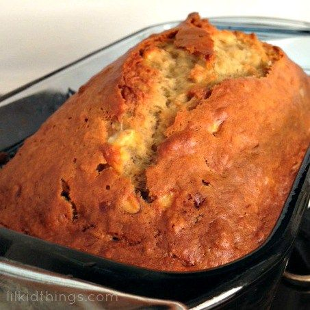 splenda sweet swaps, banana bread, easy banana bread, banana bread with splenda, recipes, andrea updyke, lilkidthings