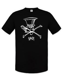 Slash-logós ajándék: Slash logós uniszex póló