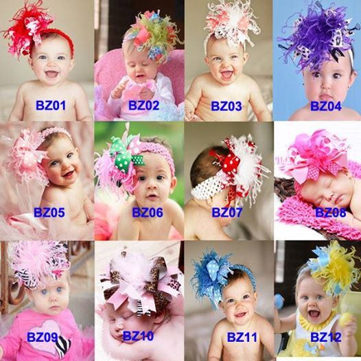 Buy stylish and colorful #babyheadbands online in India.at babycouture.in