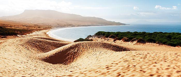 Costa De La Luz beach scenery