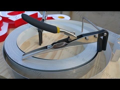 Amazing- <b>Stainless Steel Channel Letter</b> Bender,Metal letter bender ...