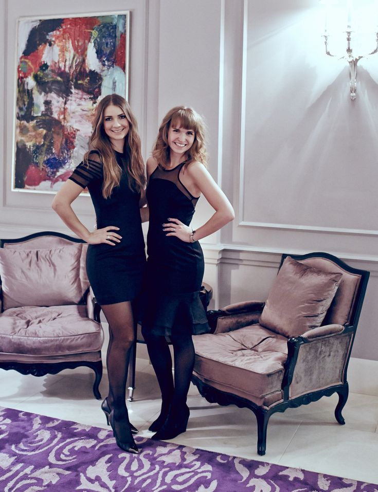 Emma and Katja from the business and fashion blog Blame the Business in Y.A.S