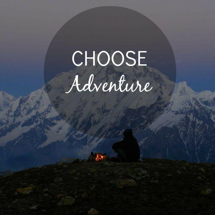 Kies voor #avontuur! #quote #wijsheid #woorden #reizen #travel