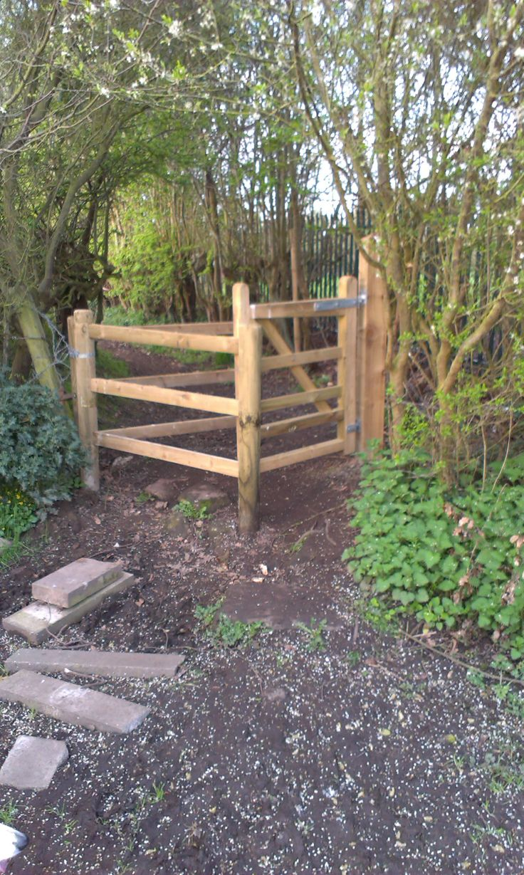 News gates for the Whitfield to Barnston Path