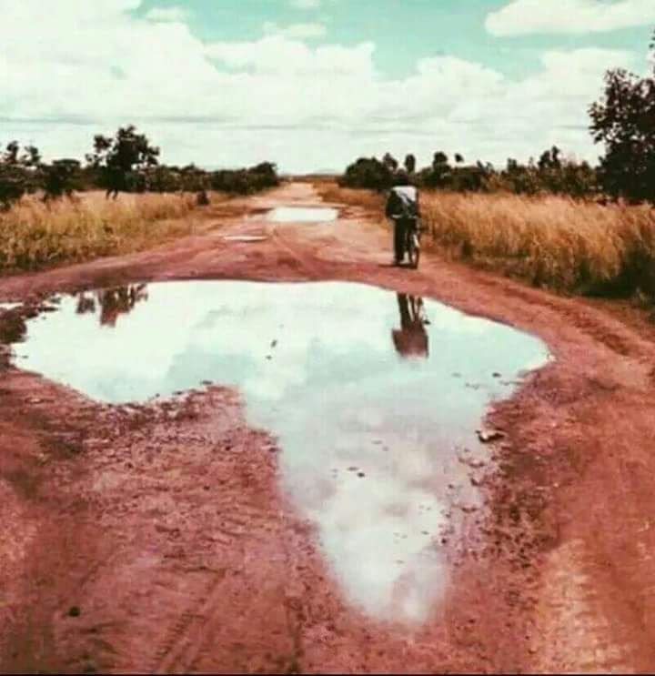 Even our potholes are uniquely Africa(n)!
