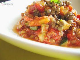 moja smaczna kuchnia: Ratatuja z soczewicą
