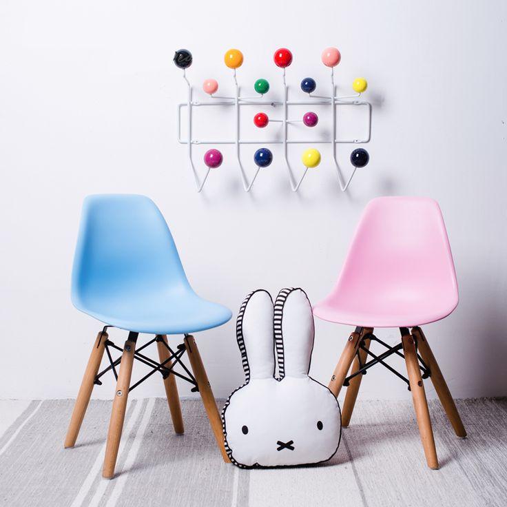 Kinder holzsockel baby kinder minimalistischen modernen Kinder Stuhl kunststoff und Holz Beine esszimmerstuhl moderner stuhl 1 STÜCKE