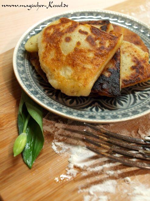 Resteverwertung von Kartoffeln: Potato Scones / Schottische Kartoffelküchlein #Kartoffeln