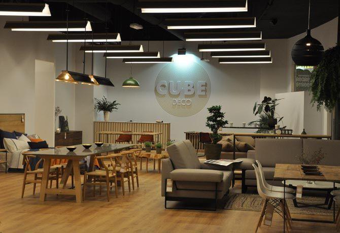 CubeDeco: nuestra tienda en el Centro Comercial Marineda City (A Coruña).